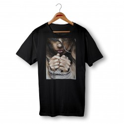 'FREE SOUL' BLACK ORGANIC COTTON UNISEX T-SHIRT