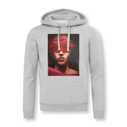 'LOVE IS BLIND' UNISEX HOODED SWEATSHIRT