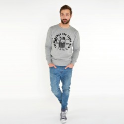 'TOUCH GAMES FOR TOUCH MEN' GREY SWEATSHIRT FOR MEN