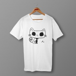 'CAT' ORGANIC COTTON UNISEX T-SHIRT