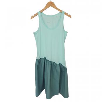 'VIBRANT WATER' CARIBBEAN BLUE DRESS