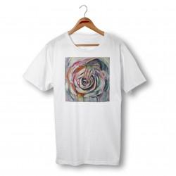 'ROSE' ORGANIC COTTON UNISEX T-SHIRT