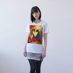 WHITE T-SHIRT FOR WOMEN 'LOVE'